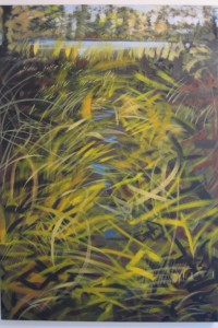 """""""Out of the Forest"""" 42"""" x 30""""  oil on canvas                       Framed to 44"""" x 32"""""""