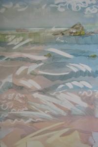 Second Beach, Newport, Rhode Island Art