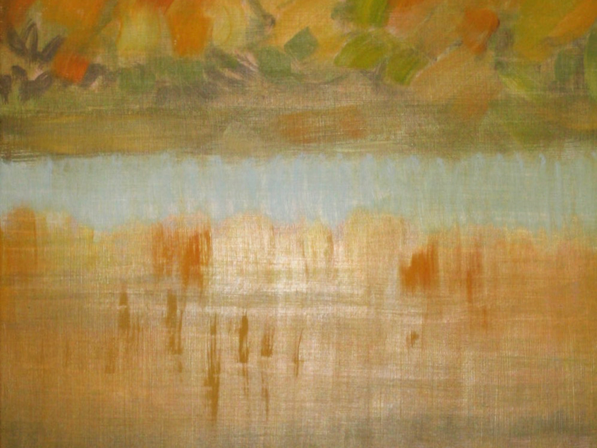 """Shelter Island Pond II"""